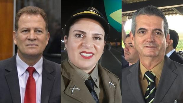 Candidatos da PM e Bombeiros pretendem disputar cargos na Câmara e Senado