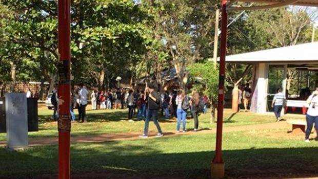 Polícia prende envolvido em assassinato no campus da UFG