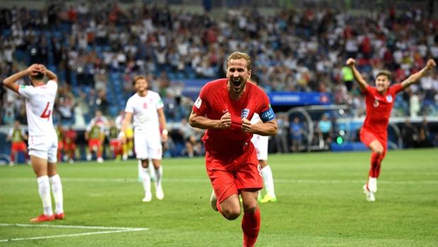 Dos seis gols que o artilheiro inglês Harry Kane marcou na Copa aea830b77d5a4