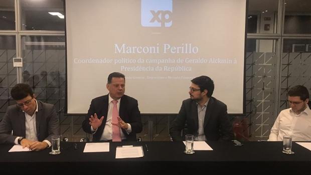 Marconi sugere nome de Meirelles para vice de Alckmin