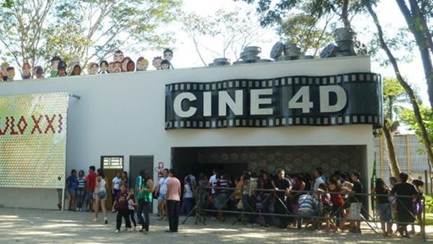 Gestão Iris abre licitação para restaurar Cinema 4D do Mutirama, fechado há um ano