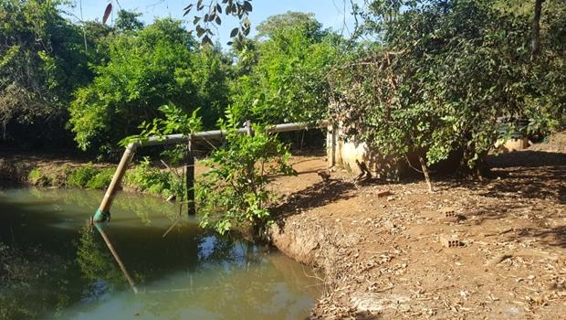 Operação flagra captação irregular de água no Meia Ponte