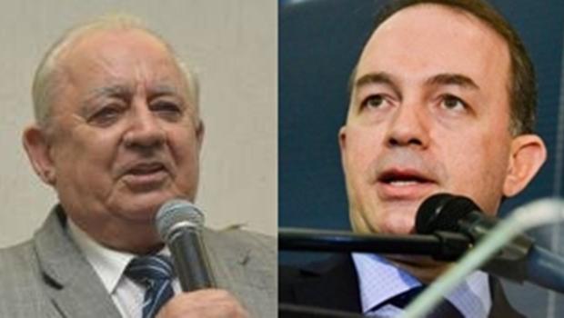 O pastor Abigail e Samuel Almeida, da Assembleia de Deus, declaram apoio a Daniel Vilela