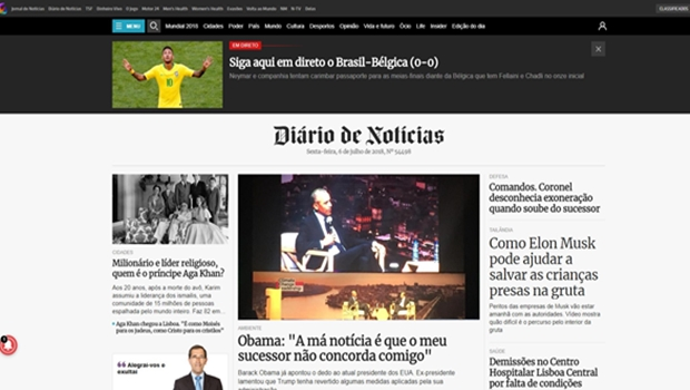 Jornal de Portugal, de 154 anos, troca o impresso pelo digital