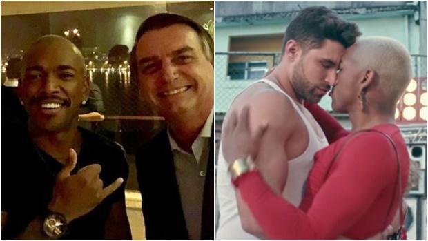 Apoiador de Bolsonaro, Nego do Borel surpreende fãs ao aparecer beijando homem em clipe