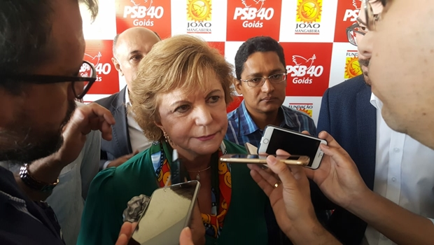 Lucia Vânia diz que não trabalha por vaga na chapa governista e descarta apoio a Caiado