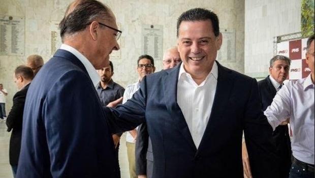 Alckmin diz que Marconi foi essencial para sucesso da aliança com Centrão