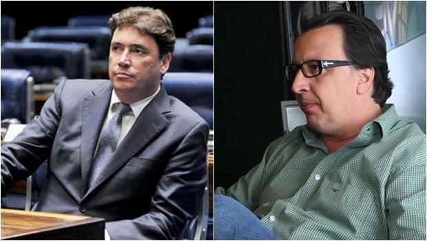 Crise na base caiadista entre Wilder Morais e Alexandre Magalhães