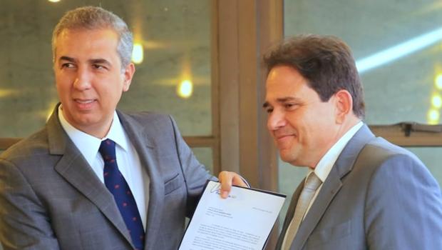 Na Fecomércio, Zé Eliton defende diálogo constante com os setores produtivos
