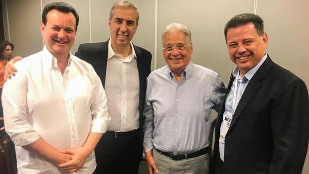 """""""Brasil inicia caminhada para reencontrar desenvolvimento"""", diz José Eliton na convenção nacional do PSDB"""