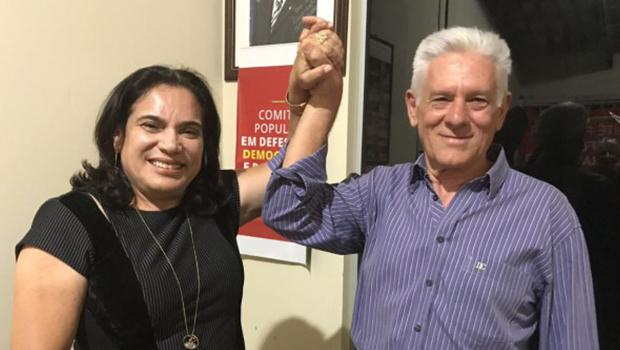 Antônio Bites é o primeiro suplente da Professora Geli na disputa para o Senado