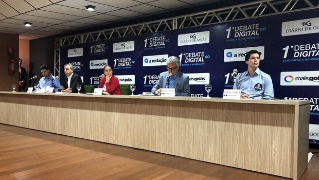 """Em debate, Caiado cita rodeio como evento cultural e propõe """"escola de cultura"""""""