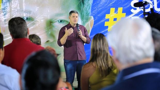 Pré-candidato a deputado, Rafael Lousa colhe sugestões para propostas de mandato