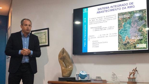 Saneago apresenta Plano de Racionamento e diz que risco de desabastecimento é mínimo