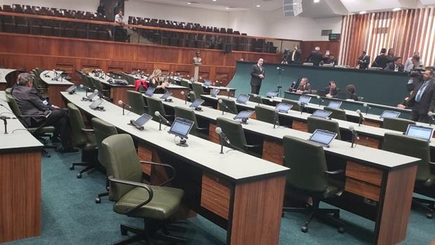Sessão da Assembleia deixa de ser aberta por falta de quórum