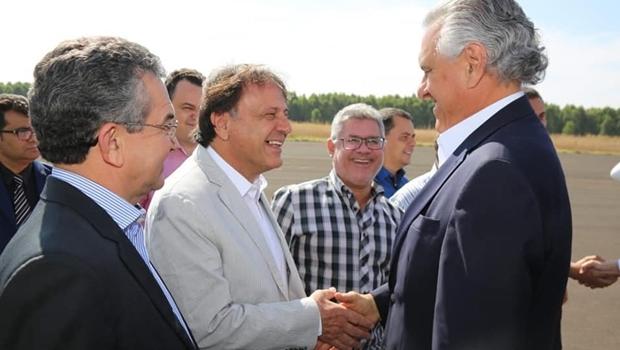Adib Elias mostrou força política ao levar parte do MDB para Ronaldo Caiado