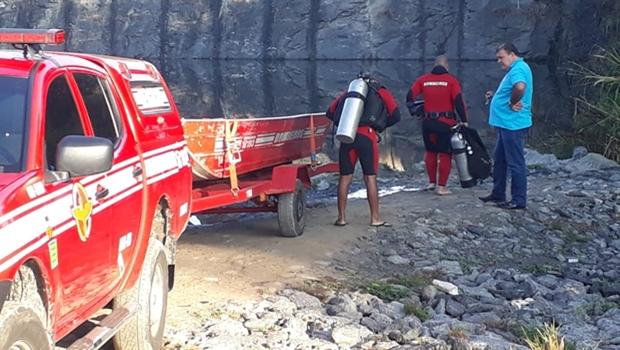 Jovem morre ao mergulhar em pedreira de Aparecida de Goiânia