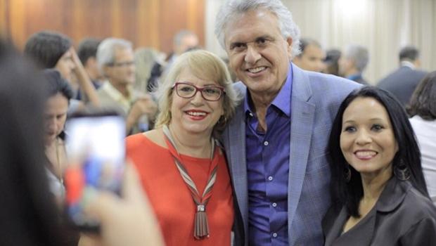 Sem presença feminina na chapa, Caiado promete dar mais espaço a mulheres se eleito