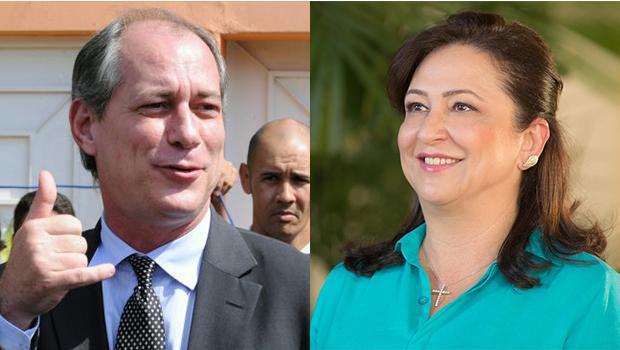 Ciro Gomes terá a senadora por Tocantins, Kátia Abreu, como vice