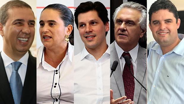 Confira a agenda dos candidatos ao governo de Goiás deste domingo (23)