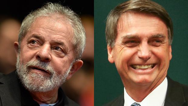 Ibope mostra Lula com 36%, Bolsonaro com 18% e Marina com 6% da intenções de voto