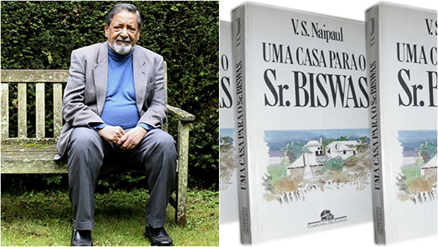 Biografia revela as primeiras críticas à literatura de V. S. Naipaul