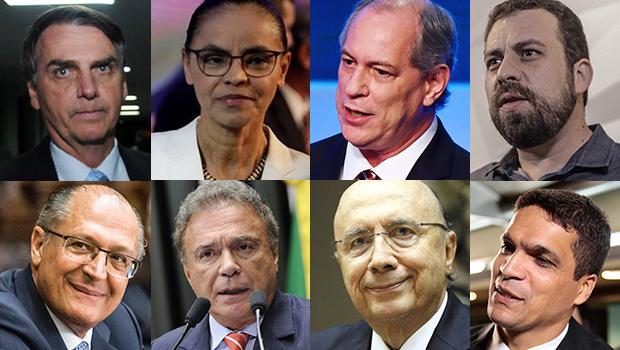 Presidenciáveis se enfrentam em segundo debate na TV aberta nesta sexta-feira (17)
