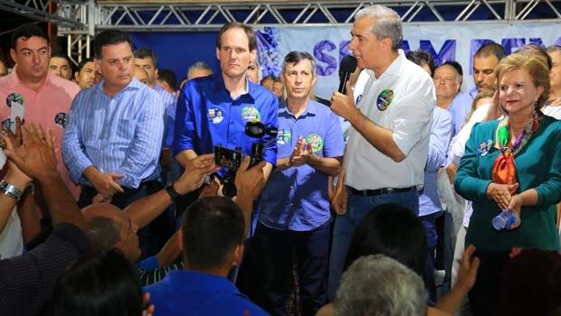 Zé Eliton e Marconi unem forças e recebem apoio em Rio Verde