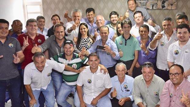 Caiado recebe apoio de prefeito do PSDB e de vereadores de Araçu