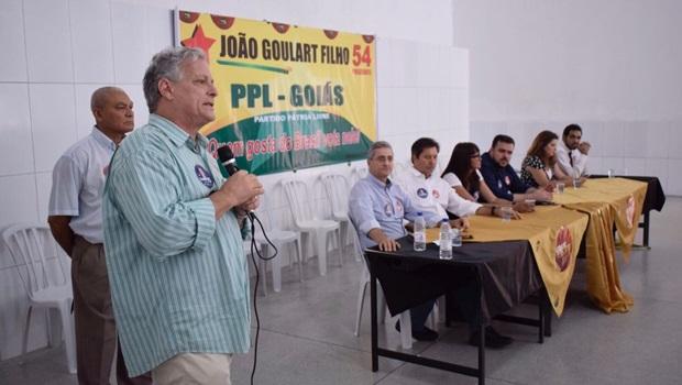 Em Goiás, João Goulart Filho defende reforma agrária e critica Temer