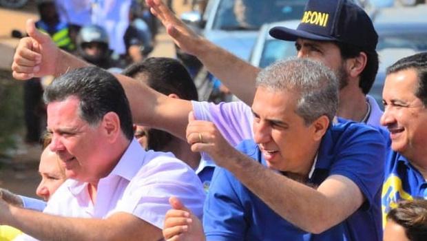 Em Águas Lindas, Marconi diz que vai qualificar e expandir conquistas do município em Brasília