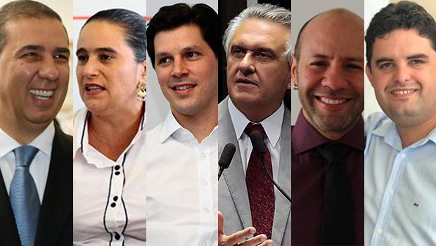 Confira a agenda dos candidatos ao governo de Goiás nesta quinta-feira (20)