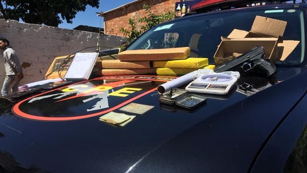Polícia prende dono de distribuidora de bebidas que usava comércio para tráfico de drogas