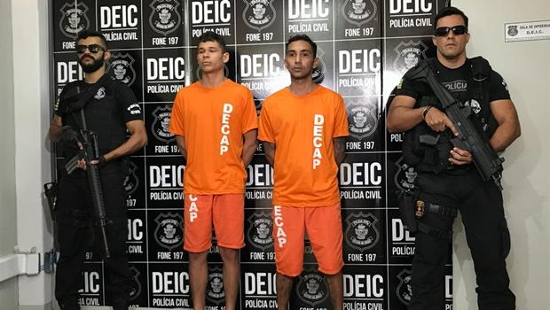 Polícia prende autores de assalto a joalheria em shopping de Goiânia