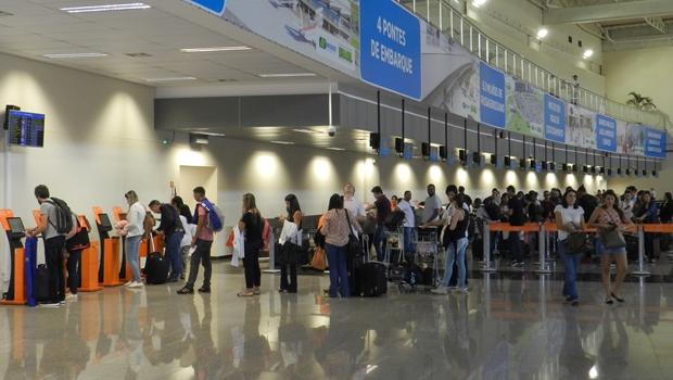 Movimento no Aeroporto de Goiânia deve crescer no Feriado da Independência