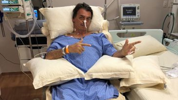 Peritos confirmam que áudio de Jair Bolsonaro no hospital é falso