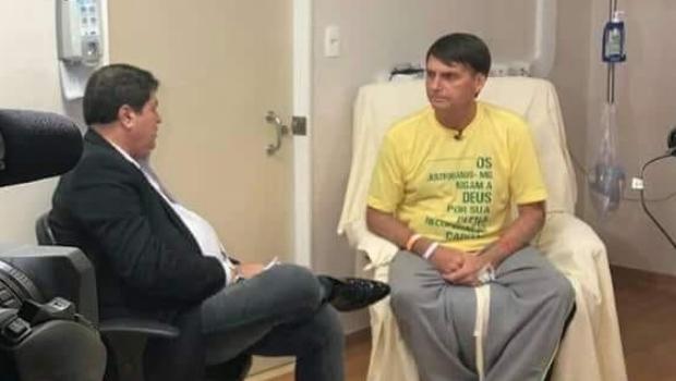 Em entrevista, Bolsonaro indica que não respeitará resultado das urnas se não for eleito