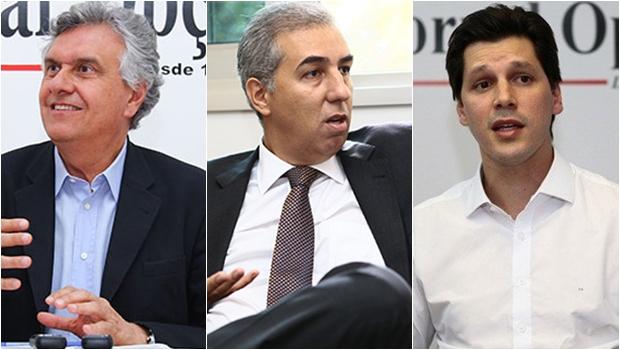 Grupom: Caiado lidera com 42%; Eliton e Daniel têm 12% cada