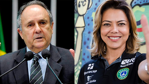 Cristovam Buarque e Leila do Vôlei são favoritos para o Snado em Brasília