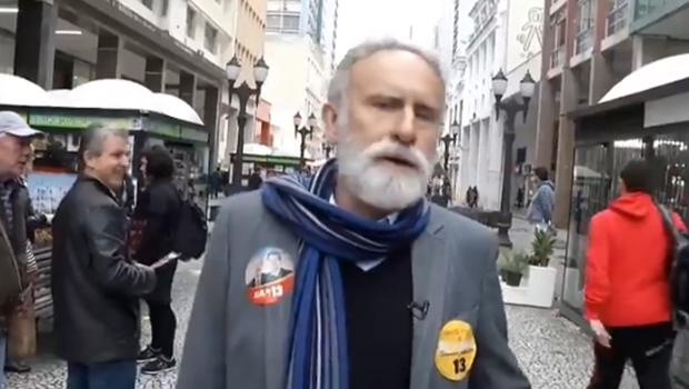 No Paraná, candidato do PT sofre ataque a bomba. Veja vídeo