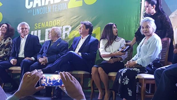 Dona Íris afirma que irá atuar com quem ganhar as eleições: Daniel Vilela ou Caiado
