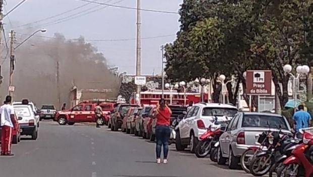 Incêndio atinge presídio de Formosa em Goiás
