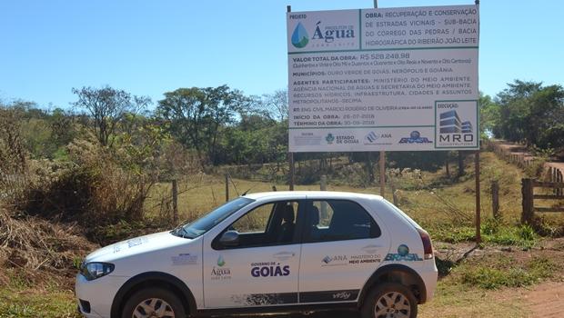 Programa garante água do Ribeirão João Leite para produção rural