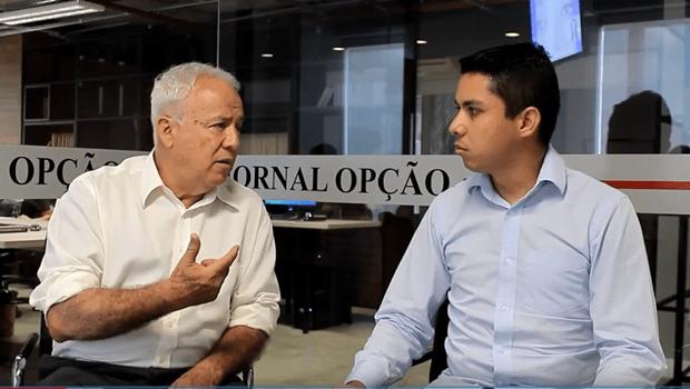 """""""Saneago pode solucionar a questão da dívida estadual"""", diz Jalles Fontoura"""
