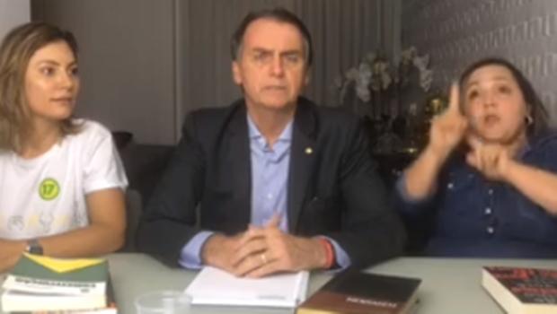 Em vídeo, Bolsonaro diz que irá seguir ensinamentos de Deus ao lado da Constituição