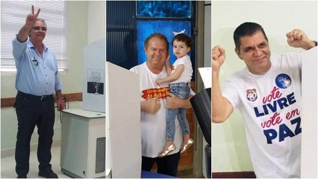 Candidatos ao governo do Tocantins votam e manifestam otimismo
