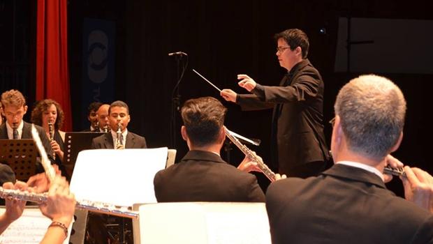 Em concerto, Banda Sinfônica comemora seus 10 anos