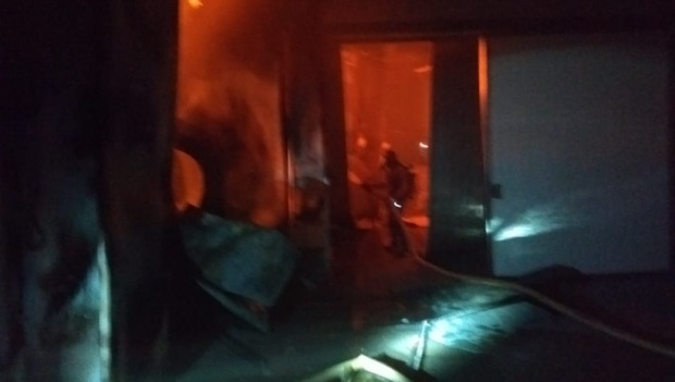 Incêndio atinge frigorífico em Mineiros