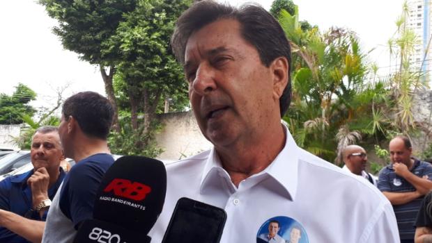 Maguito lamenta que adversários tenham caído em pesquisas
