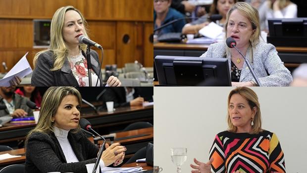 Quatro mulheres heroicas de Goiás: Flávia, Magda, Adriana e Lêda